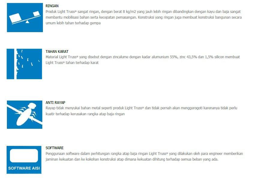Light Truss - Benefit Baja Ringan 2