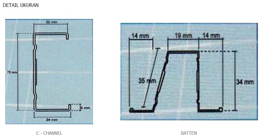 Light Truss - Spesifikasi Baja Ringan 2