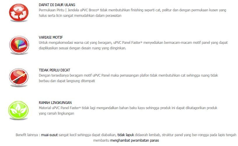 uPVC Panel - Benefit uPVC Panel 2